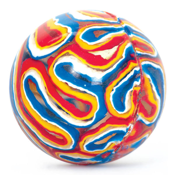 Classic Bouncy Ball- Colourful Swirl by Tobar