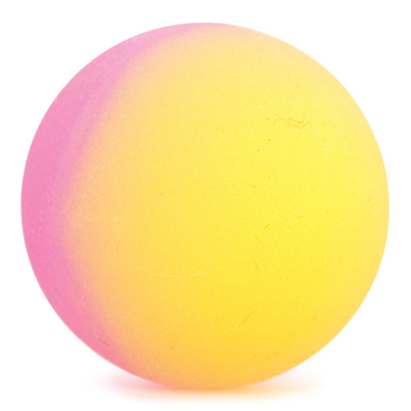 Classic Bouncy Ball- Pink and Orange by Tobar