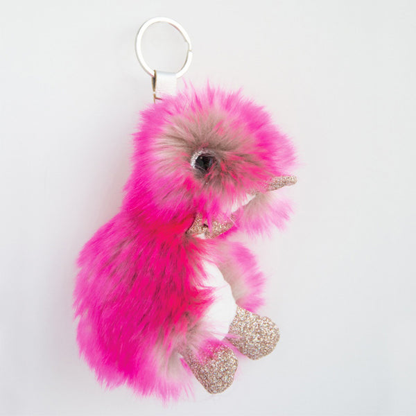 Coin Coin Lollipop Duck Keychain