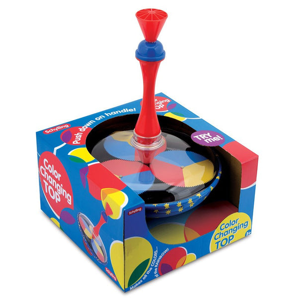 Colour Changing Spinning Top by Tobar