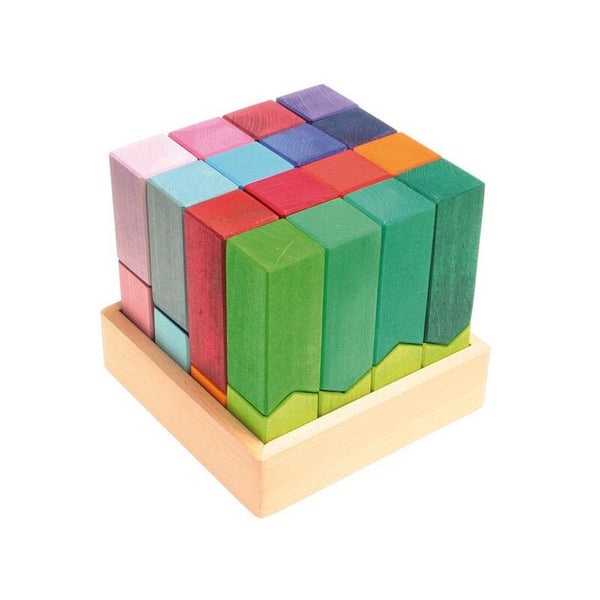 Colour-burg Wooden Building Blocks and Toy- Grimm's