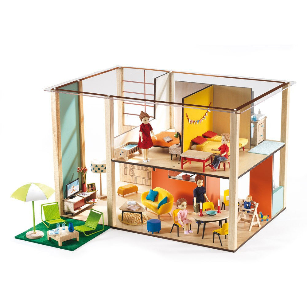 Cubic Toy Dollhouse -Petit Home by Djeco