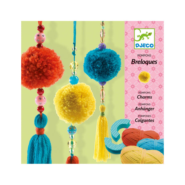 Breloque Pom Pom Charms Art Kit by Djeco