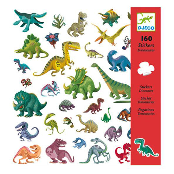 Dinosaur Stickers by Djeco - Little Citizens Boutique