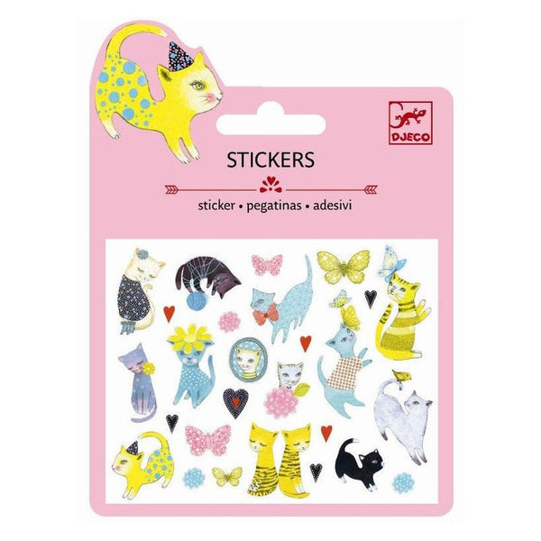 Cat Stickers by Djeco