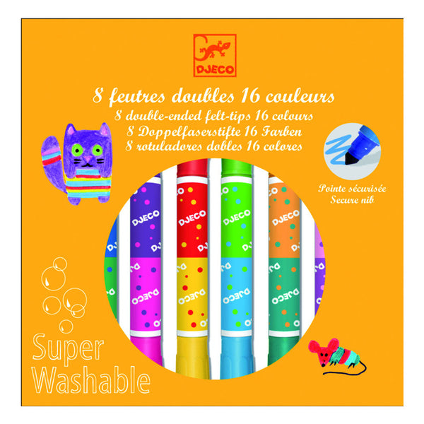 Djeco Double Ended Washable Markers