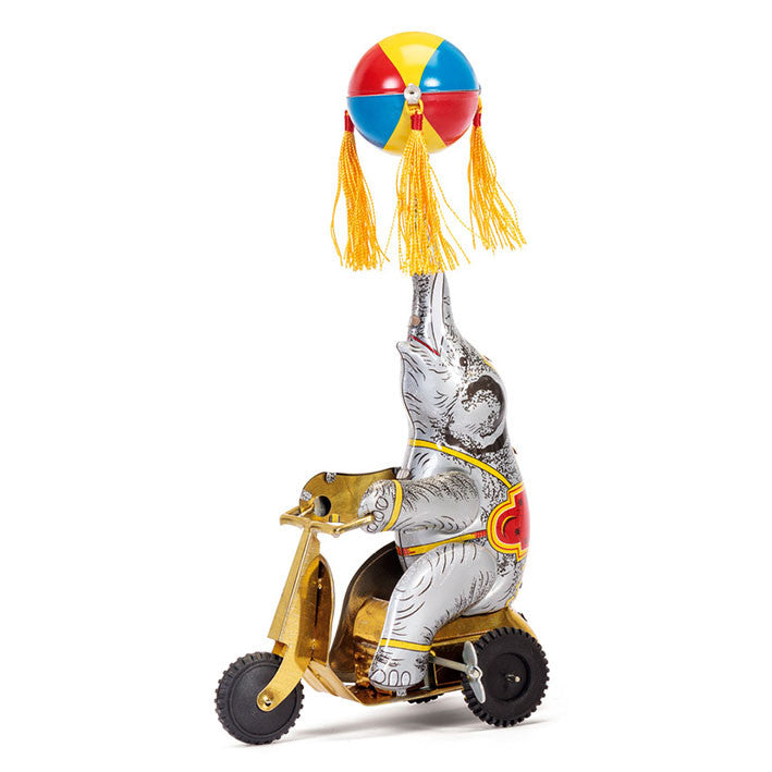 Balancing Elephant on Bike by Tobar - Little Citizens Boutique