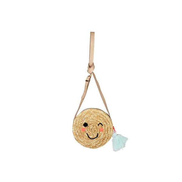 Emoji Seagrass Bag by Meri Meri