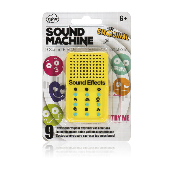 Emoticon Sound Machine by Natural Products