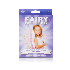 Fairy For The Day - Inflatable Fairy Wings and Wand by Natural Products - Little Citizens Boutique  - 2