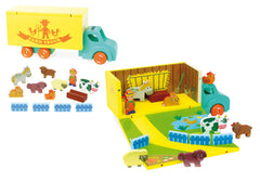 Farm Truck Set by Vilac - Little Citizens Boutique  - 2