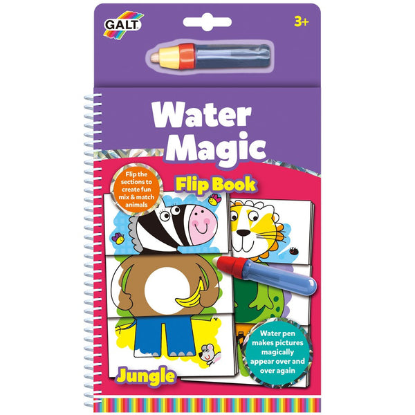 Water Magic Flip Book Make Your Own Animals by Galt