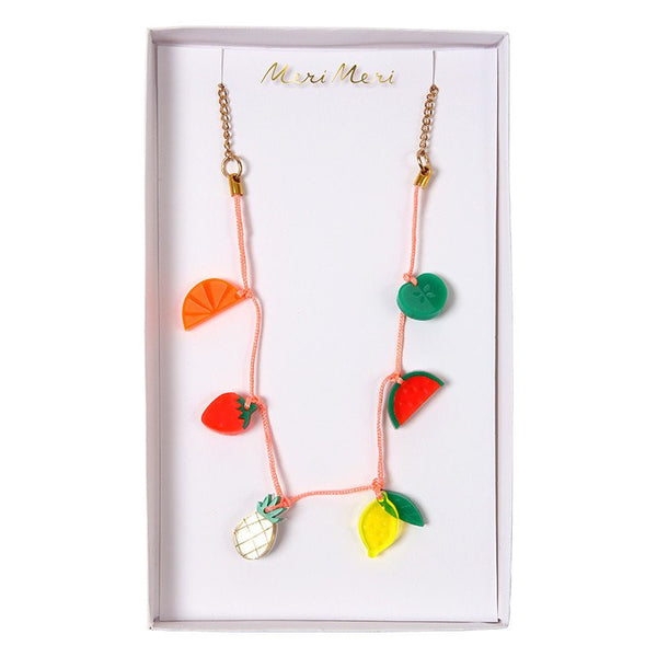 Fruit Charm Necklace by Meri Meri