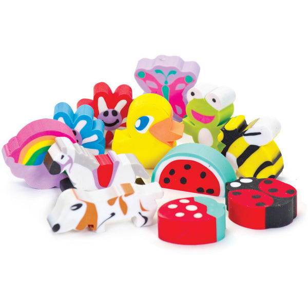 Fun and Cute Erasers by Tobar