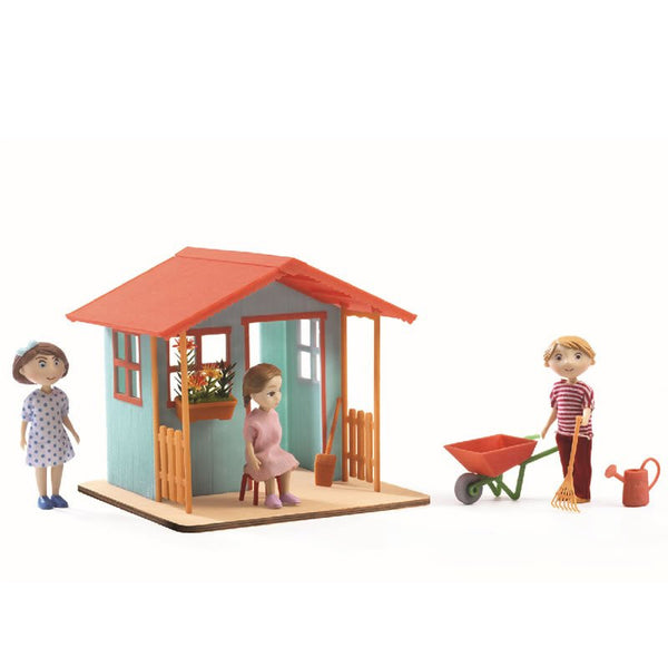 Garden House Dollhouse Furniture -Petit Home by Djeco