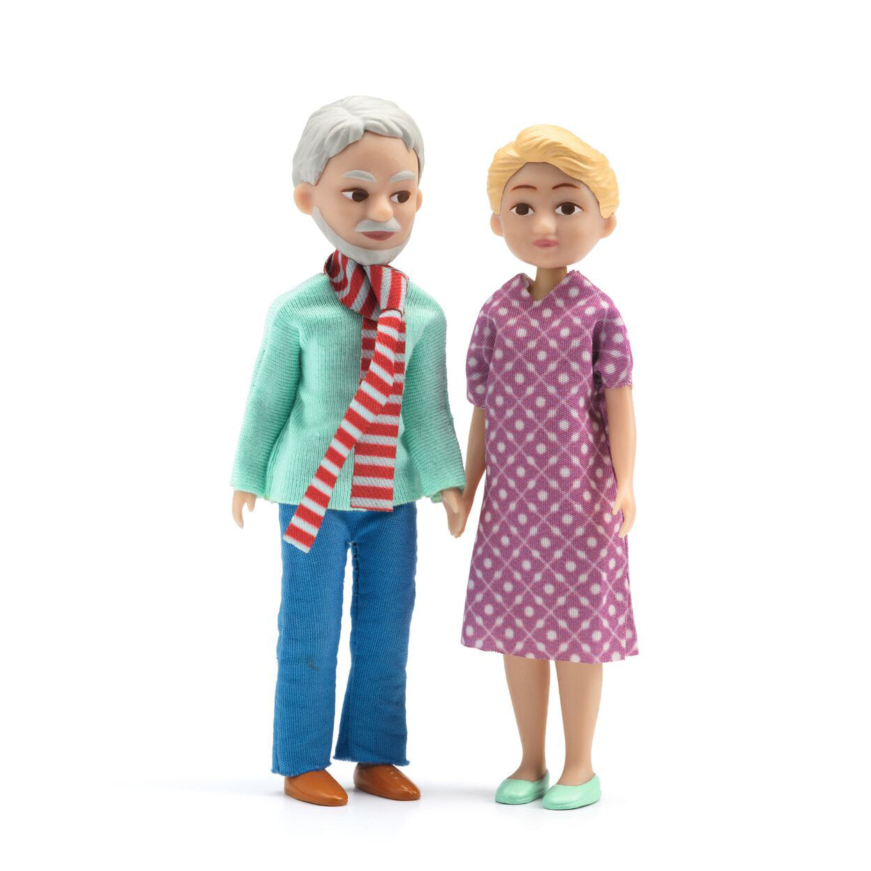 Grandparents - Figures- Doll house Toys by Djeco