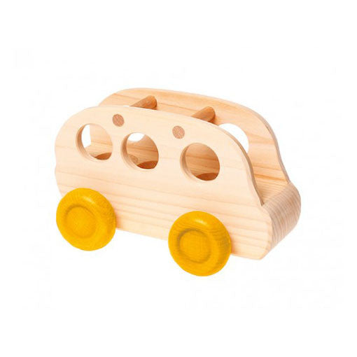 Wooden Bus for Peg Dolls by Grimm's