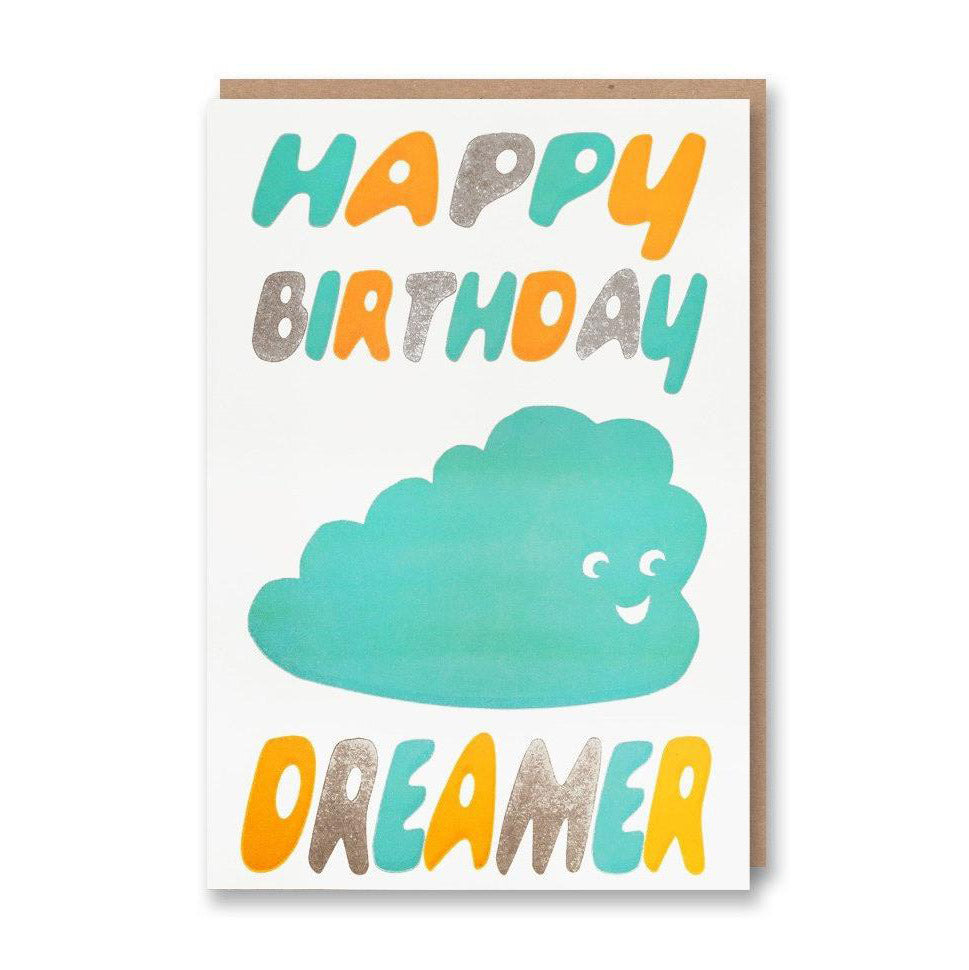 Happy Birthday Dreamer Card from Sukie