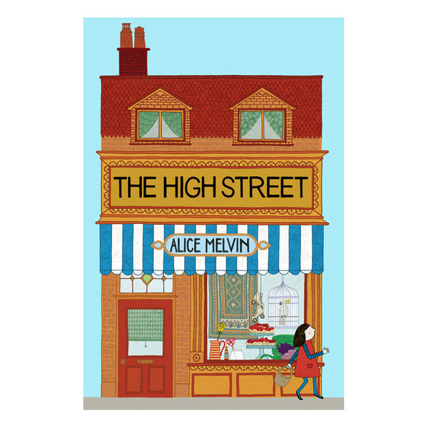 The High Street - Lift the flap book