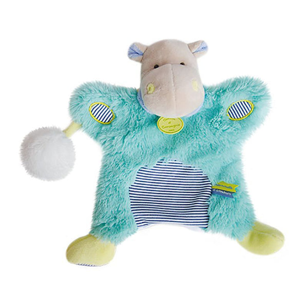 Hippo Soft Toy Puppet