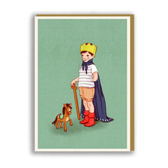 'I Am King' Card from Belle & Boo