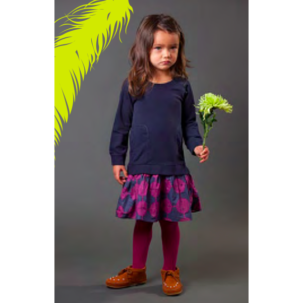 Isabel Indigo Dress - Little Citizens Boutique  - 1