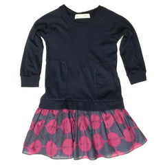 Isabel Indigo Dress - Little Citizens Boutique  - 2