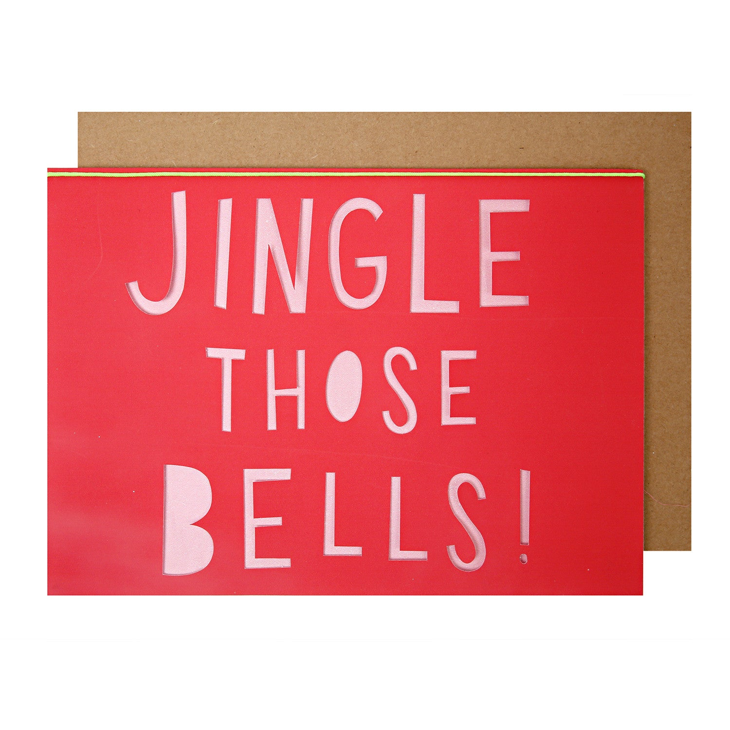 Jingle Those Bells Card by Meri Meri - Little Citizens Boutique