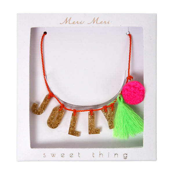 Jolly Necklace by Meri Meri