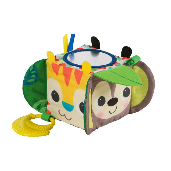Jungle Activity Hide and Peek Block by Bright Starts