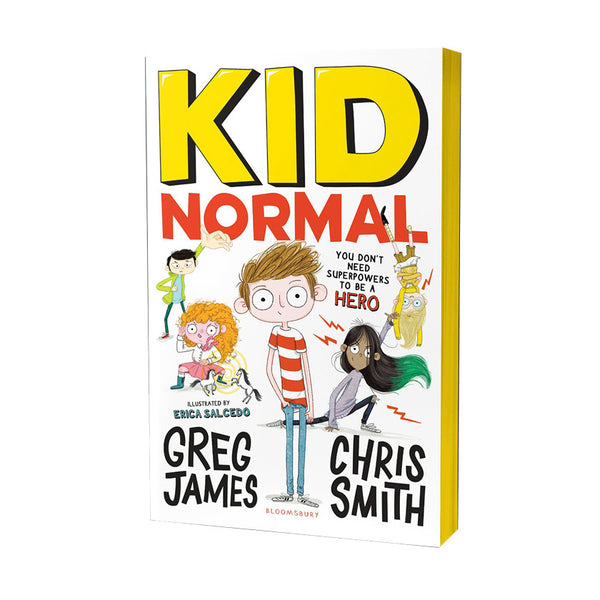 Kid Normal Young Adult Fiction by Greg James and Chris Smith