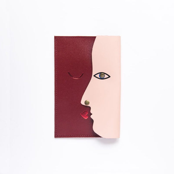 Dark Red Kissing Clutch from ARK