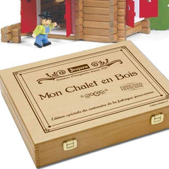 Wooden Chalet in a Box by Jeujura Toys - 135 pieces - Little Citizens Boutique  - 3