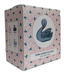 Swan Night Light in Juliette Blue by Lapin and Me