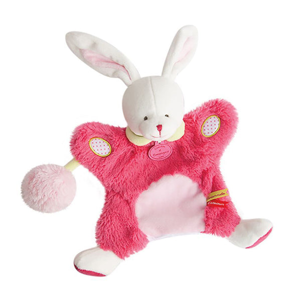 Bunny Soft Toy Puppet from DouDou et Campagnie
