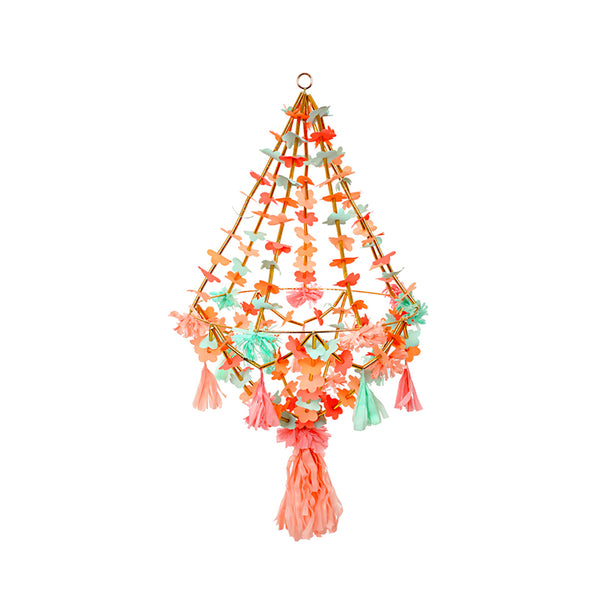 Large Fabric and Paper Chandelier from Meri Meri