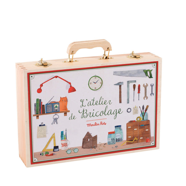 L'atelier de Bricolage Large Toolbox Set by Moulin Roty
