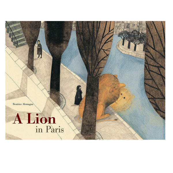 A Lion in Paris Book