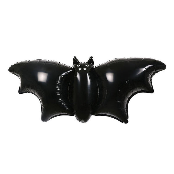 Halloween Set of Three Foil Bat Balloons