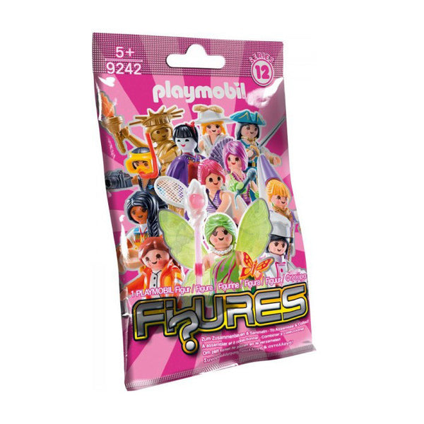 Playmobil Figures S12 Pink Bag
