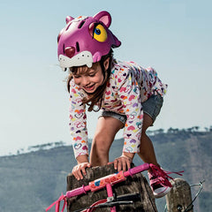 Leopard Bike, Scooter or Skateboarding Helmet by Crazy Safety - Little Citizens Boutique  - 4