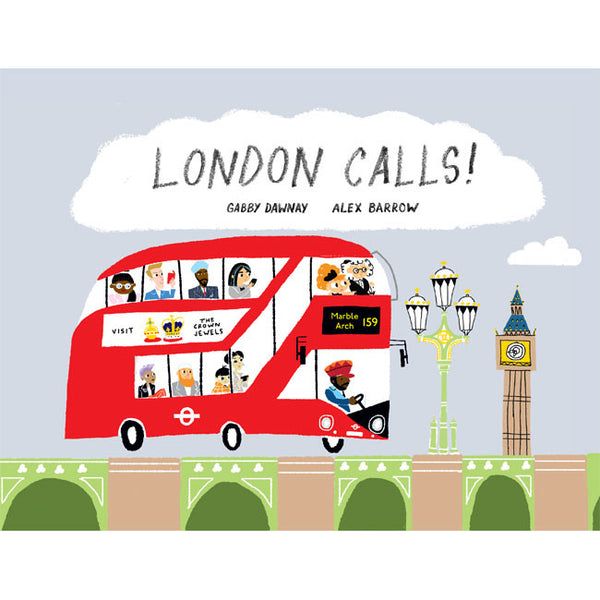 London Calls Children's Book