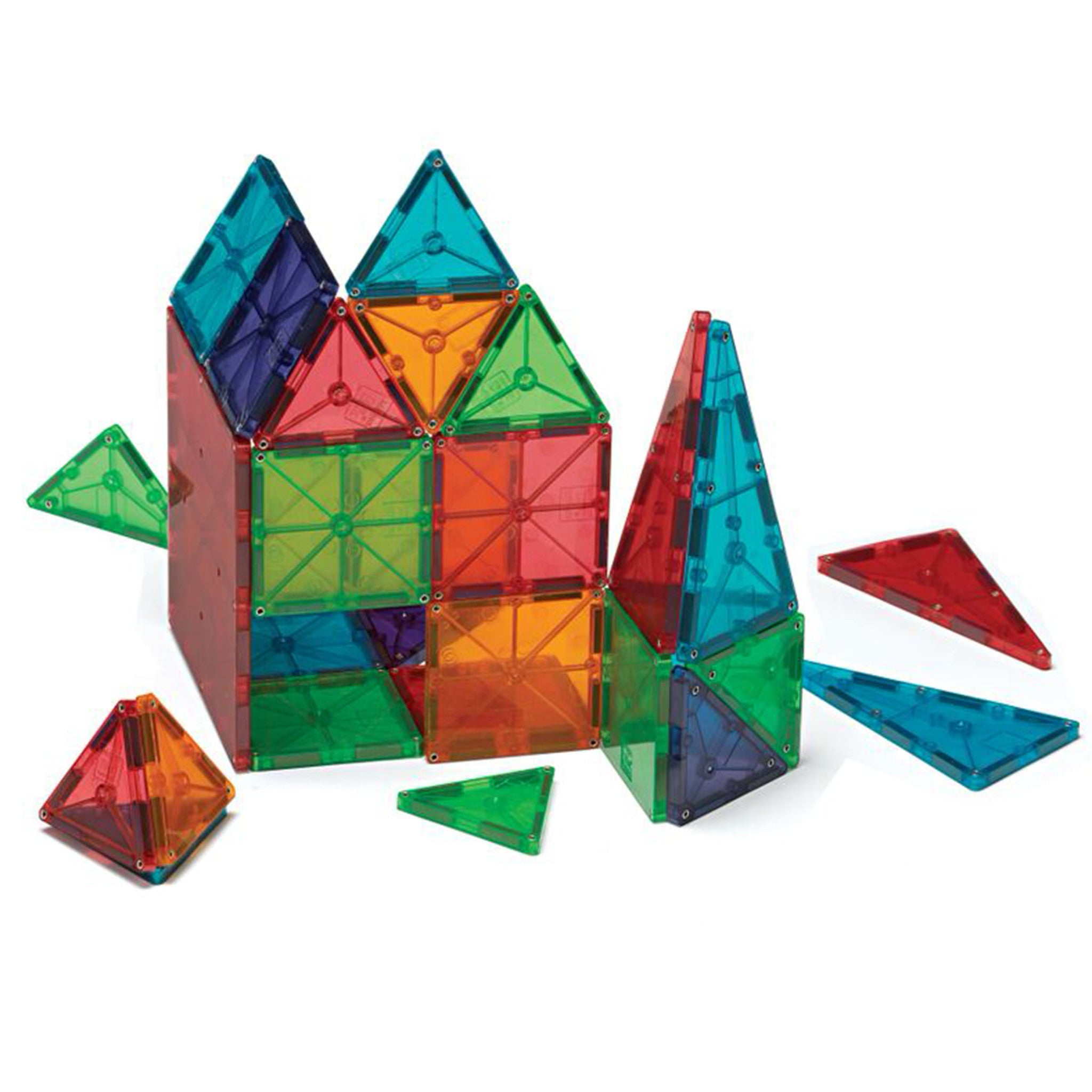 Magna Tiles 100 Piece Clear Set - Little Citizens Boutique  - 1