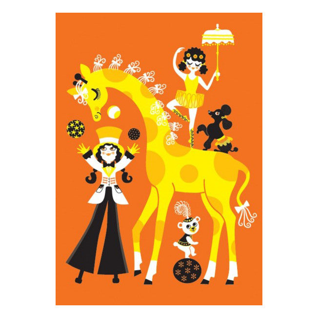 Poster Majas Cirkus by Omm Design - Little Citizens Boutique