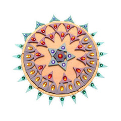 Sparkling Mandala Beautiful Wooden Puzzle - Grimm's - Little Citizens Boutique  - 6
