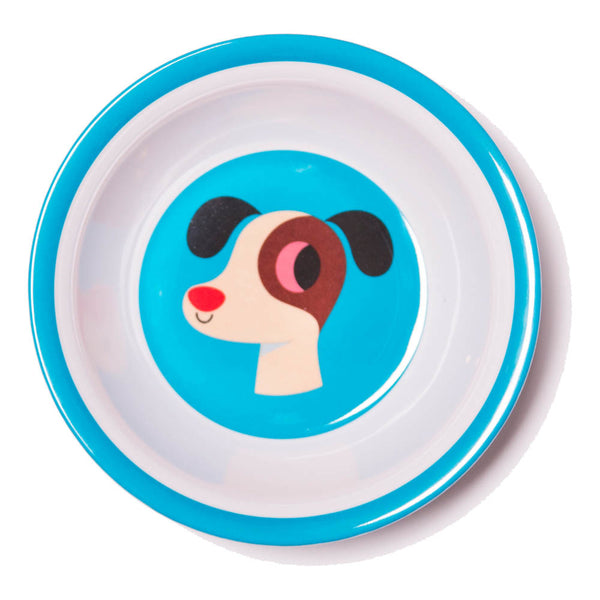 Dog Melamine Bowl Designed by Ingela P Arrhenius Omm Design