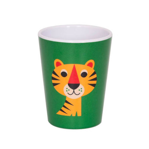 Tiger Melamine Tumbler Designed by Ingela P Arrhenius for Omm Design