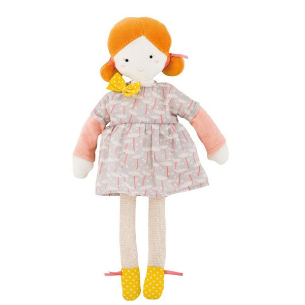 Les Parisiennes Mademoiselle Blanche Small Plush Doll