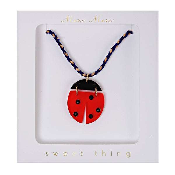 Ladybird Necklace by Meri Meri