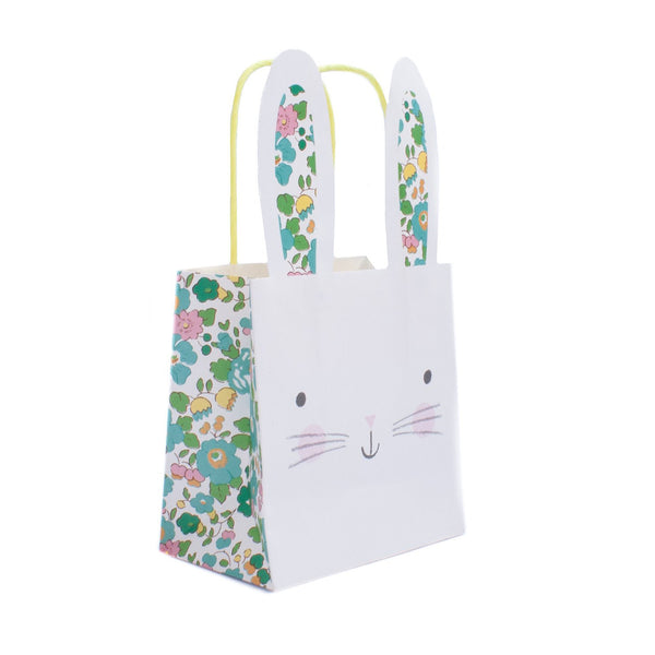 Bunny Betsy Liberty Print Party Bags - Pack of Eight - perfect for Easter!